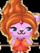 Princesa Flama Pet Society