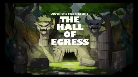 Adventure Time Title Card Painting Process - Hall of Egress