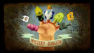 Finn and jake title card mystery dungeon