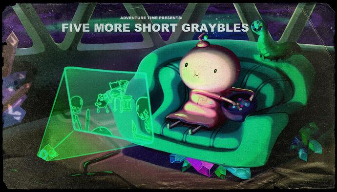 Five more short graybles tarjeta de titulo