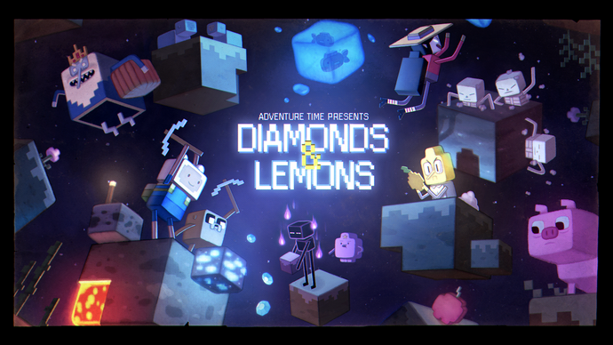 Diamonds and Lemons titlecard