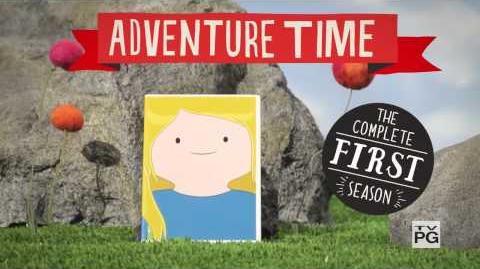 Adventure Time - Season 1 DVD set promo