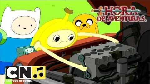 Arreglar el camión Hora de Aventuras Cartoon Network
