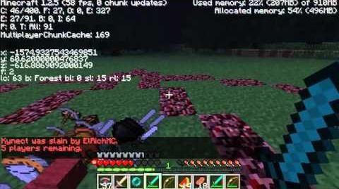 Reto Minecraft, Victoria en los juegos del hambre