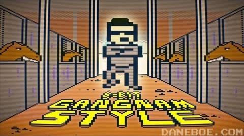 8-bit Gangnam Style! (강남스타일) M V