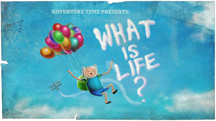 What is Life (Title Card)