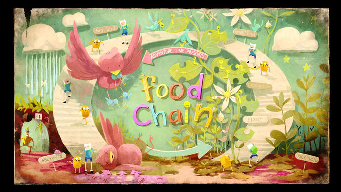 Food chain title card