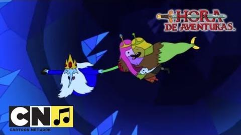 Canción 'Amor entre el hielo' en español Hora de Aventuras Cartoon Network