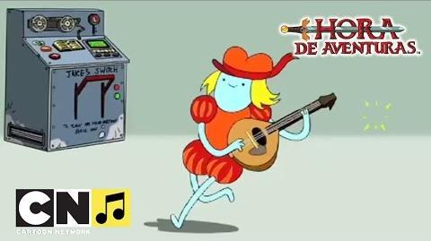 Canción 'El juglar de la imaginación' Hora de Aventuras Cartoon Network