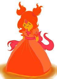 Young Flame Princess