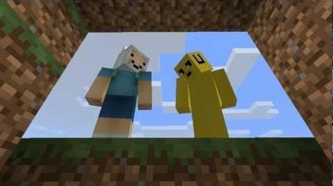 ¡Hora de Aventuras! (En Minecraft) - La Mazmorra del Ojo de Cristal-0