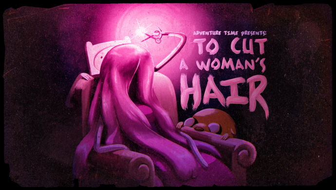 To Cut a Woman's Hair (Title Card)