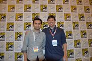 Sdcc-2013-adam-muto-adventure-time-supervising-producer-kent-osborne-head-of-story
