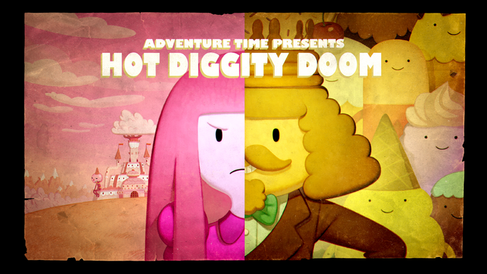 Hot Diggity Doom Card TIttle