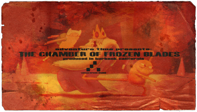 The Camber of Frozen Blades (Title Card)