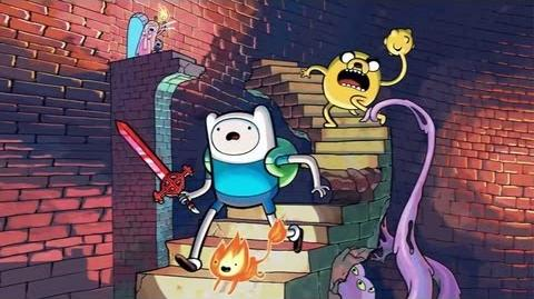 Adventure Time Explore the Dungeon Because I Don't Know Trailer