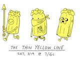 La Delgada Línea Amarilla/Galería