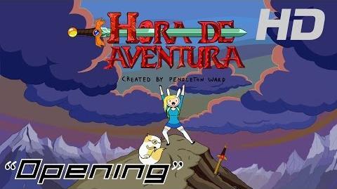 Hora de Aventura con Fionna y Cake- Opening (Latino) HD