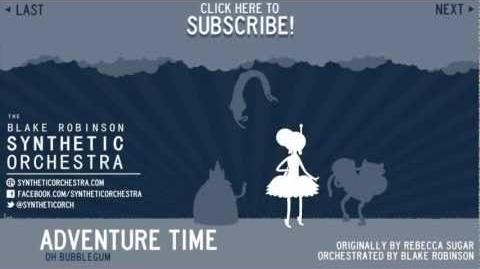 Adventure Time - Oh Bubblegum Orchestra-2