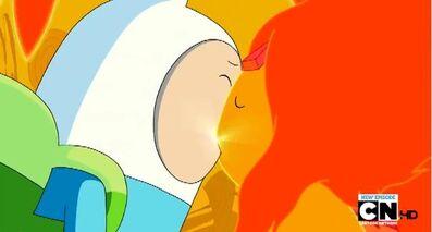 Finn y Princesa Flama