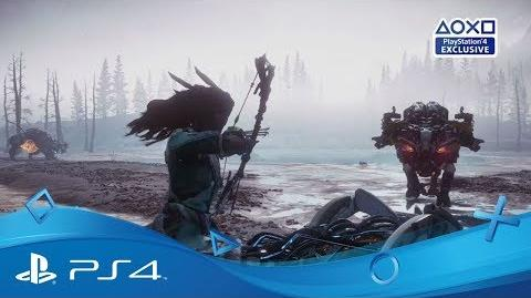 Horizon Zero Dawn The Frozen Wilds - Trailer PlayStationPGW 2017 Disponible Exclu PS4