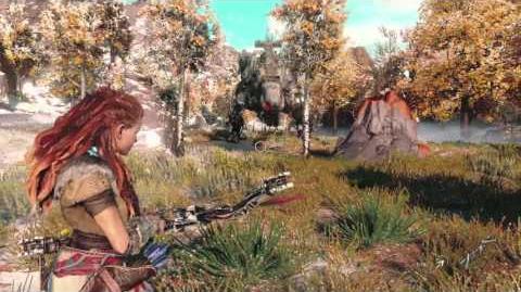 Horizon Zero Dawn - Tráiler del E3 2015
