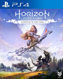 Horizon Zero Dawn Complete Edition cover