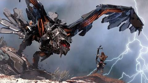 Horizon Zero Dawn disponible en exclu sur PS4 - Trailer Machines PlayStation Experience 2016