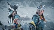 Survivor Aloy and Ikrie