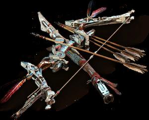 Weapons render