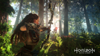 Horizon Zero Dawn Aloy Hunting