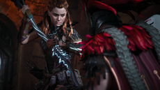 Aloy About to kill Helis