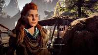 Horizon Zero Dawn Aloy village