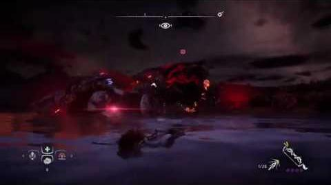 Horizon Zero Dawn™ Corrupted Rockbreakers can cross the river now