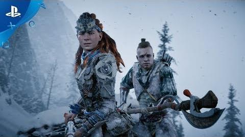 Horizon Zero Dawn The Frozen Wilds Launch Trailer PS4