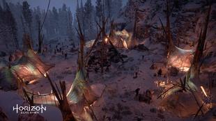 Banuk encampment tent designs