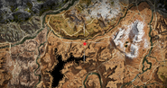 Hakurt's location in dryrun canyon