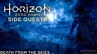 Horizon Zero Dawn Very Hard Side Quest Walkthrough Death from the Skies