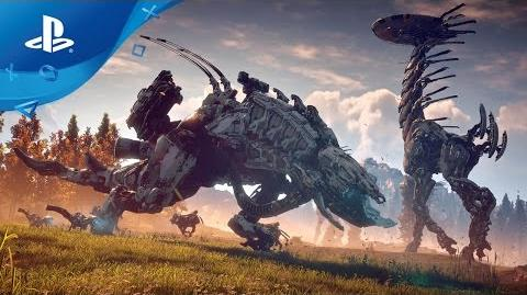Horizon Zero Dawn Die Maschinen PS4 PSX 2016 Trailer