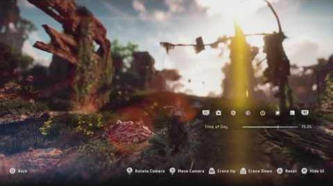 Horizon Zero Dawn - Photo Mode Developer Walkthrough