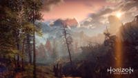 Horizon Zero Dawn Landschaft