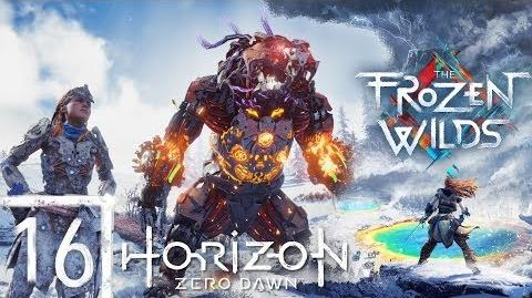 Fireclaw Hunting - The Frozen Wilds Episode 16 - Let's Play Horizon Zero Dawn BLIND