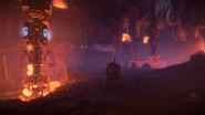 Firebreak cave