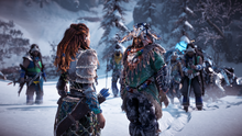 Aratak accepts Aloy as Chieftain