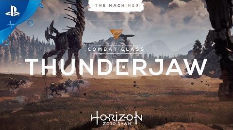 Horizon Zero Dawn - The Machines Thunderjaw PS4