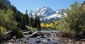 Maroon bells near aspen, co