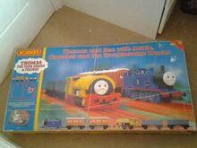 2000 Clockwork Thomas and Ben electric train set