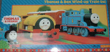 Thomas and Bill wind up train set