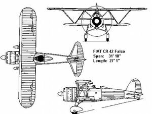 Fiat cr 42-01584
