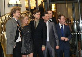 The starring cast of TV series Horrible Histories arrives at the Children's BAFTAs, 27 November 2011